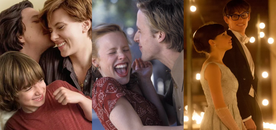Las 10 mejores películas románticas de Netflix