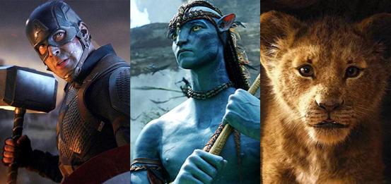 Las 10 películas más taquilleras que puedes ver en Disney+, Netflix y Movistar+